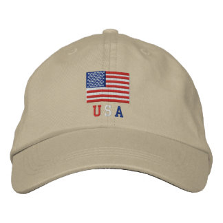 USA American Flag Hat - 4th of July