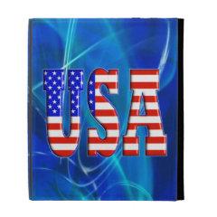 USA AMERICAN FLAG iPad CASE