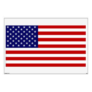 USA American Flag Large Wall Decal