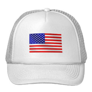 USA American flag of the United States of America Trucker Hats