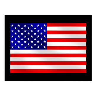 USA American flag of the United States of America Post Cards