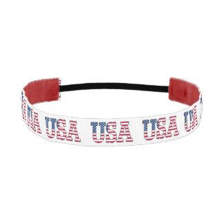 USA American Flag Patriotic Headband