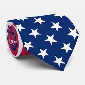 USA American Flag Patriotic Stars Stripes Neck Tie