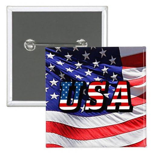 USA - American Flag Pin