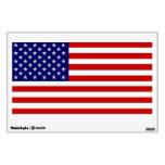 USA American Flag Small Wall Decal