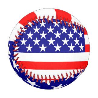 USA American Flag Stars and Stripes Baseball