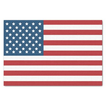 USA Themed USA American Flag Stars and Stripes Tissue Paper