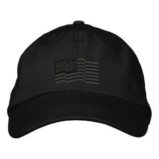 USA American Flag Stars 'n Stripes Embroidered Cap