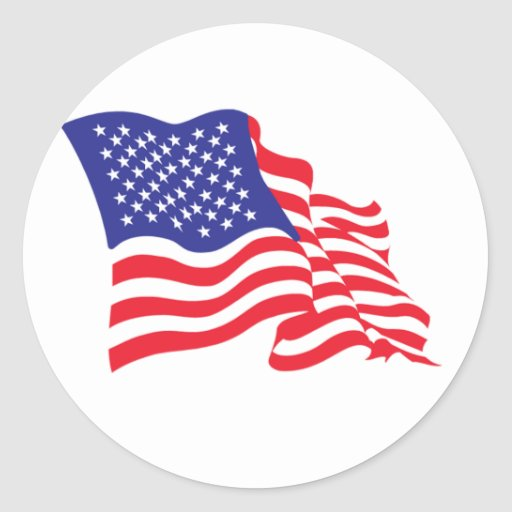 USA/American Flag Stickers