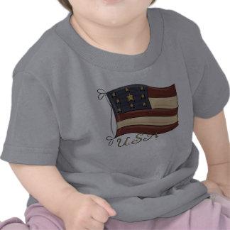 USA American Flag Tshirts