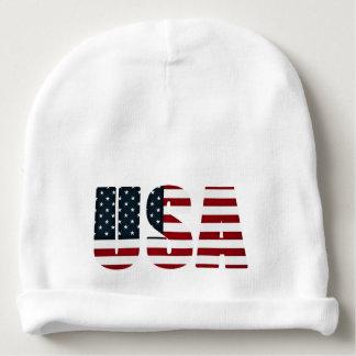 usa american flag baby beanie