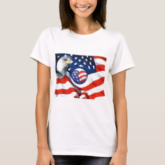 USA,American ,I Am_ T-Shirt