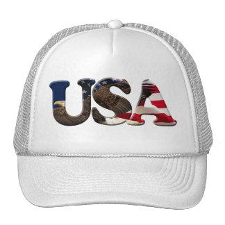 USA American Patriot Series Cap Trucker Hat