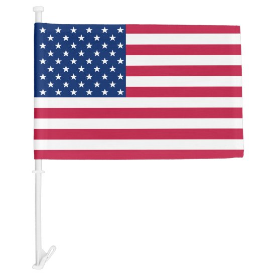 USA American Patriotic Stars and Stripes Car Flag