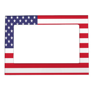 USA American Patriotic United States Magnetic Frame