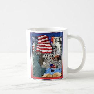 USA American Symbols Coffee Mug