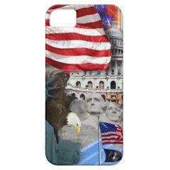 USA American Symbols iPhone 5 Case