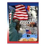 USA American Symbols Postcard