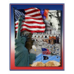 USA American Symbols Print