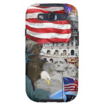 USA American Symbols Samsung Galaxy SIII Case
