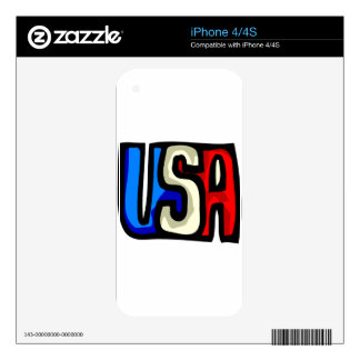 USA Americana Design iPhone 4 Skin