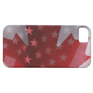 USA and Canada flags iPhone SE/5/5s Case