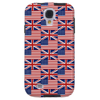 USA and UK Flags Galaxy S4 Case
