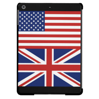 USA and UK Flags iPad Air Case