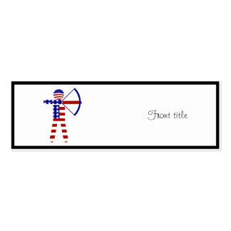 USA Archery - American Archer Business Card Template