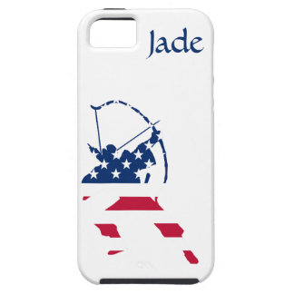 USA Archery American archer flag iPhone SE/5/5s Case