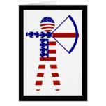USA Archery - American Archer Greeting Card