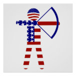 USA Archery - American Archer Poster