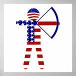 USA Archery - American Archer Print