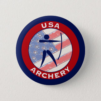 USA Archery Pinback Button