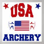 USA Archery Poster