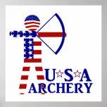 USA Archery Print