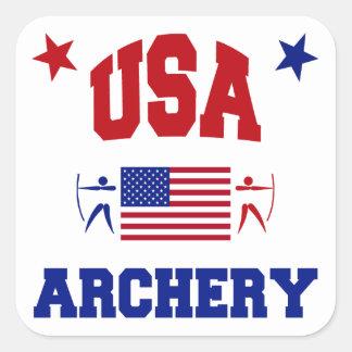 USA Archery Stickers