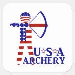 USA Archery Sticker