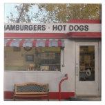 USA, Arizona, Bisbee: Shady Dell Motel, All 2 Large Square Tile