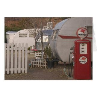 USA, Arizona, Bisbee: Shady Dell Motel, All Greeting Card