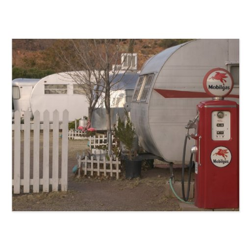 USA, Arizona, Bisbee: Shady Dell Motel, All Post Card
