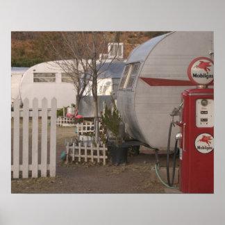 USA, Arizona, Bisbee: Shady Dell Motel, All Poster