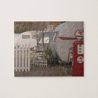 USA, Arizona, Bisbee: Shady Dell Motel, All Puzzle