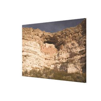 USA, Arizona, Camp Verde: Montezuma Castle Canvas Print