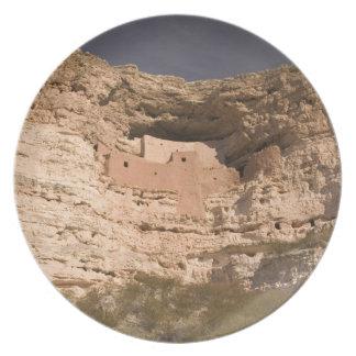 USA, Arizona, Camp Verde: Montezuma Castle Plates