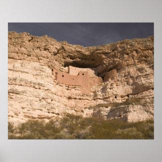 USA, Arizona, Camp Verde: Montezuma Castle Poster