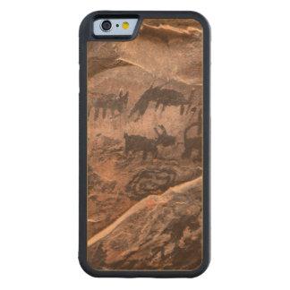 USA, Arizona, Coconino National Forest, Palatki Carved Maple iPhone 6 Bumper Case