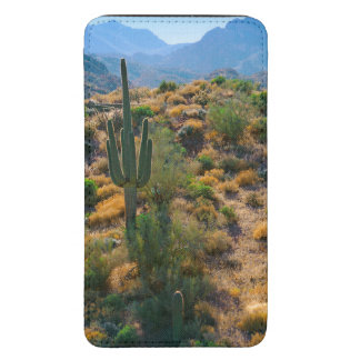 USA, Arizona. Desert View Galaxy S5 Pouch