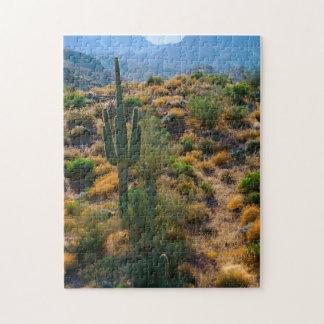 USA, Arizona. Desert View Jigsaw Puzzle