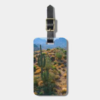 USA, Arizona. Desert View Luggage Tag